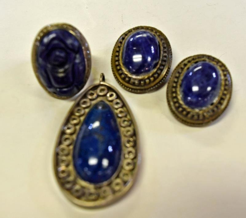 Handcrafted Blue Lapis Jewelry
