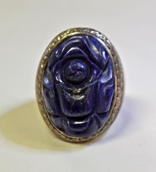 Handcrafted Blue Lapis Jewelry - 2