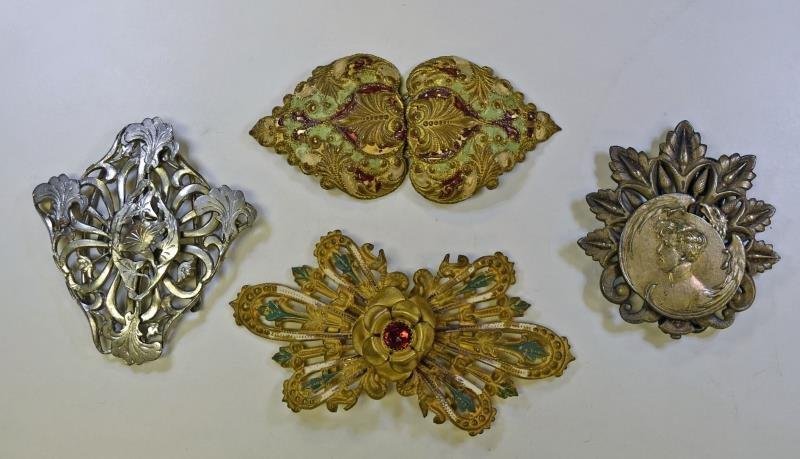 Vintage Victorian Ribbon Buckles