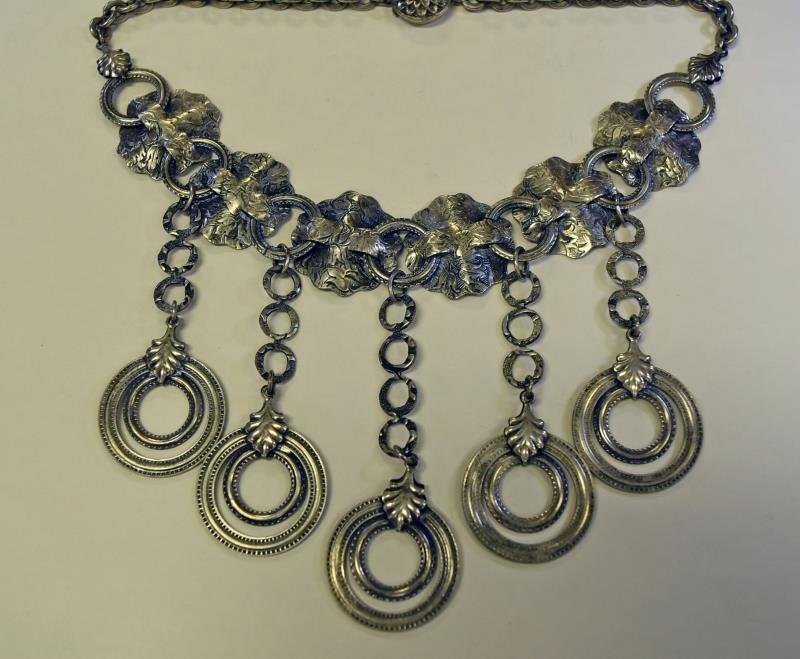 A Group of Silvertone Jewelry - 3