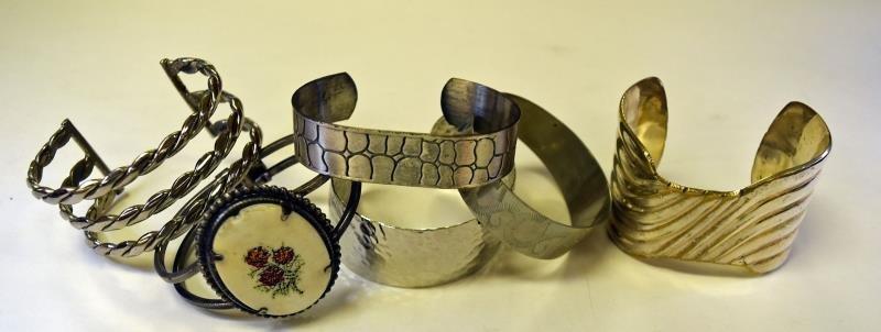 Group of Silvertone Jewelry - 2