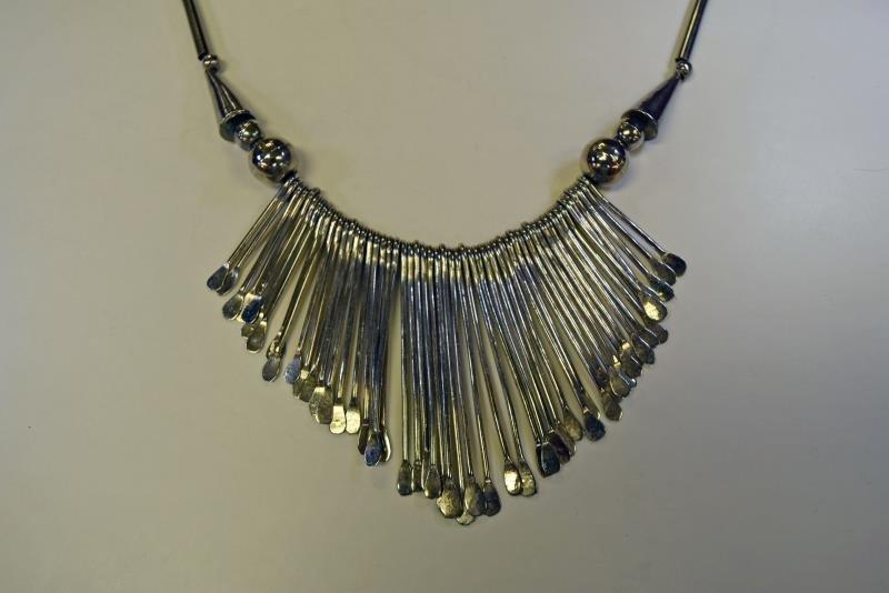Group of Silvertone Jewelry - 3