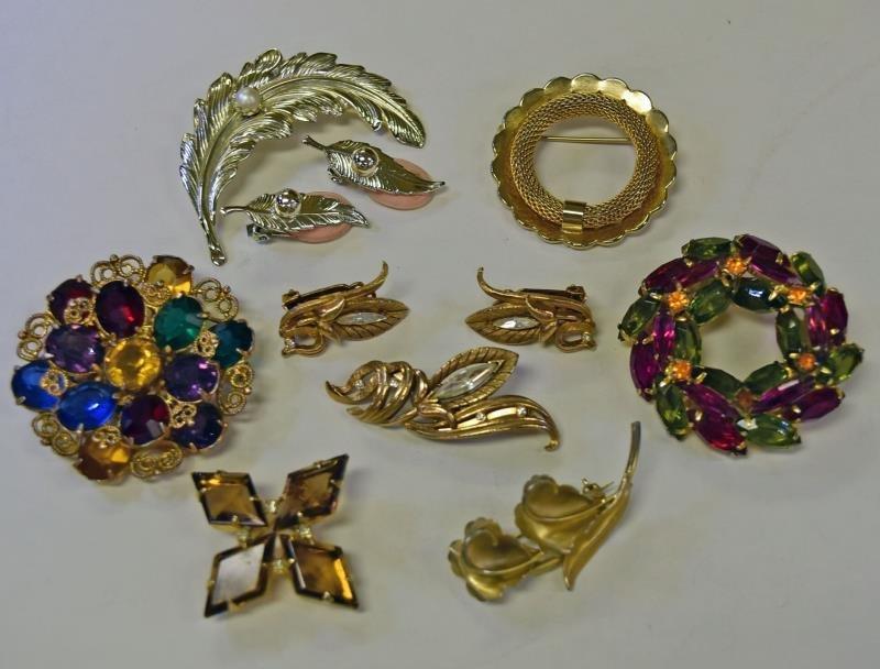 Rome Demi-Parure Costurme Jewelry Set