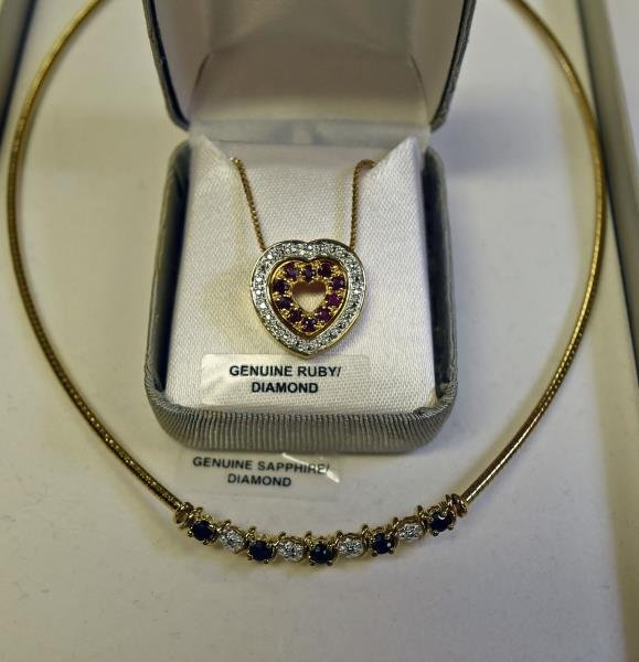 18K Gold over Sterling Silver Necklaces