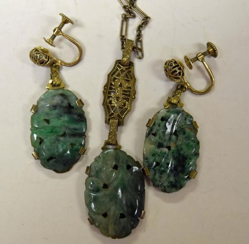 Group of Asian Influenced Jewelry - 4
