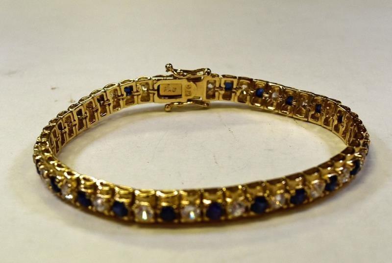 Two Gold over Sterling bracelets - 2