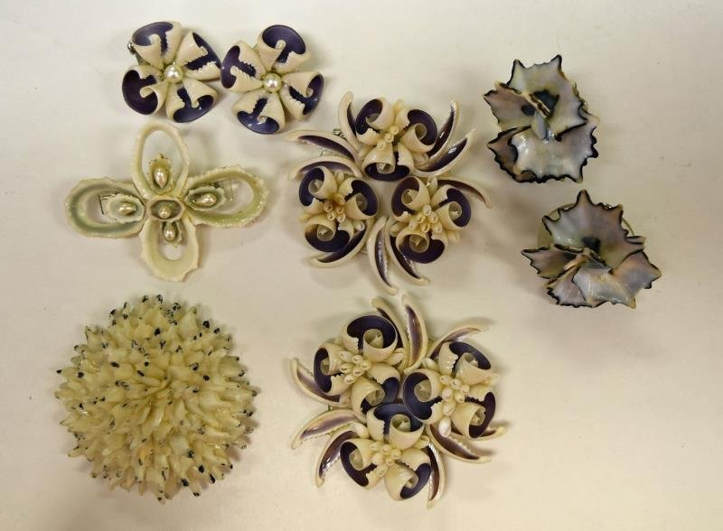 Group of Shell Costume Jewelry - 2