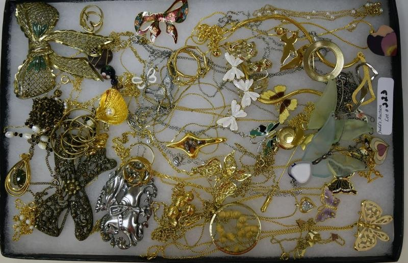 Group of Goldtone Costume Jewelry
