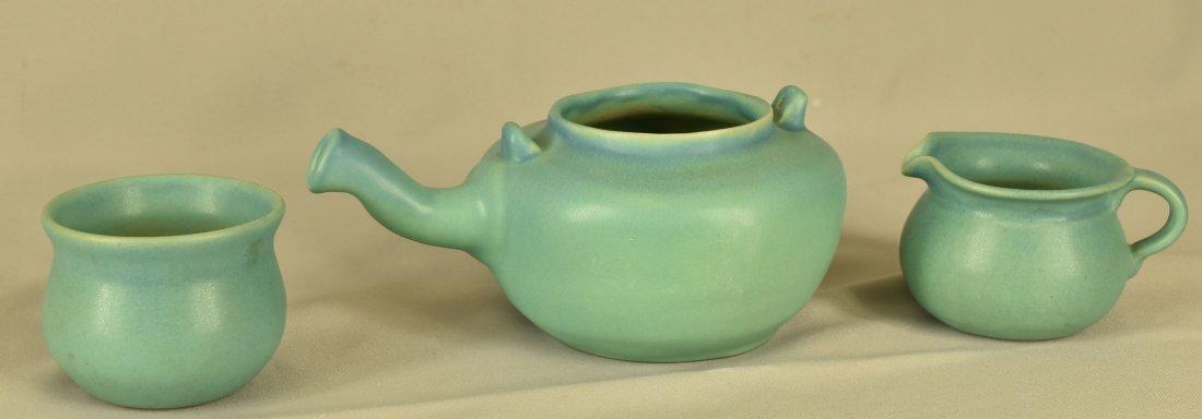 Van Briggle Tea Pot with Cream & Sugar