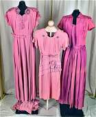 """Three 40""""s Evening Gowns And Dress"""