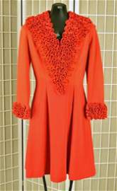 1940's Or 50's Red Dress