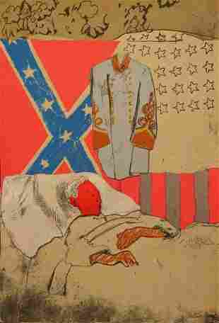 LARRY RIVERS (AMERICAN, 1923-2002) LAST CIVIL WAR