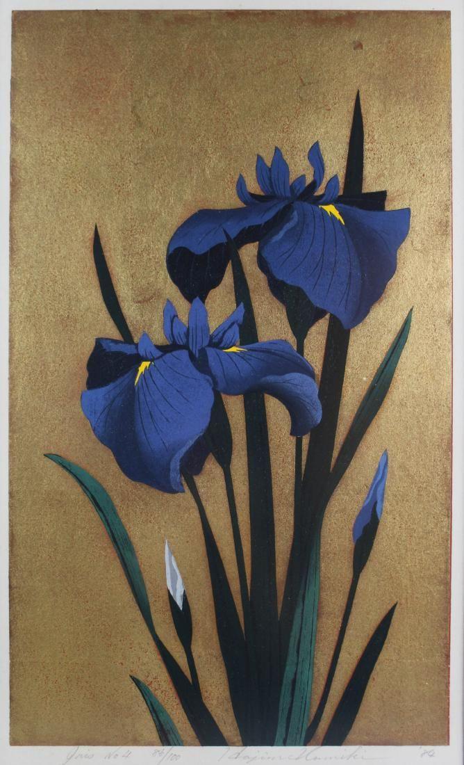 HAJIME NAMIKI (JAPANESE, 20TH CENTURY) IRIS No. 4