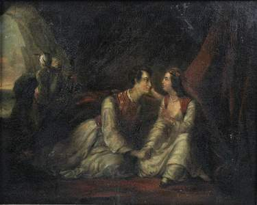 AFTER ALEXANDRE MARIE COLIN (19TH CENTURY) JUAN AND