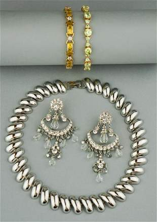 COLLECTION OF STERLING SILVER AND MIXED METAL JEWELRY