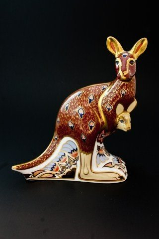 5: ROYAL CROWN DERBY AUSTRALIAN COLLECTION KANGAROO