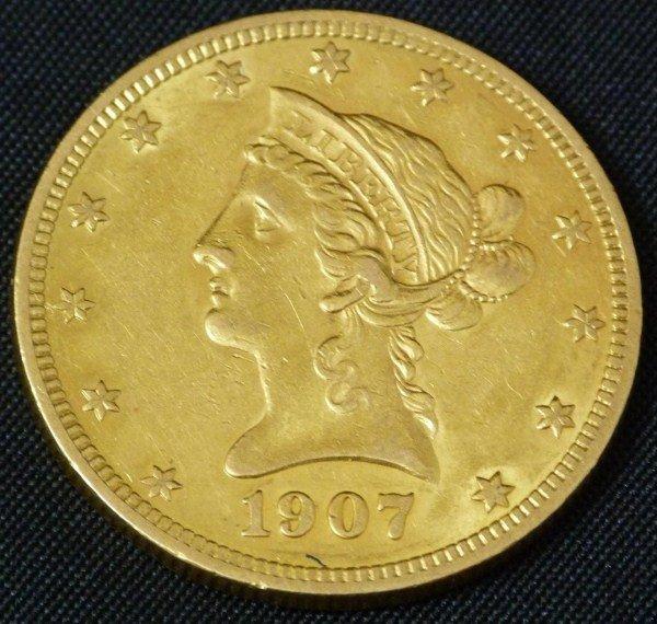 19: 22K GOLD 1898 LIBERTY EAGLE