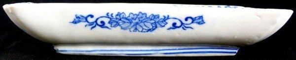 305: ANTIQUE CHINESE BLUE & WHITE PORCELAIN DISH
