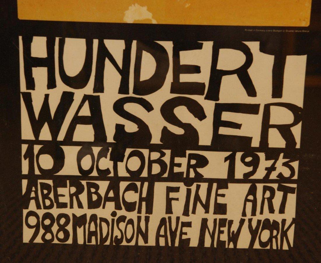 247: FRIEDENSREICH HUNDERTWASSER ART EXHIBIT POSTER - 5