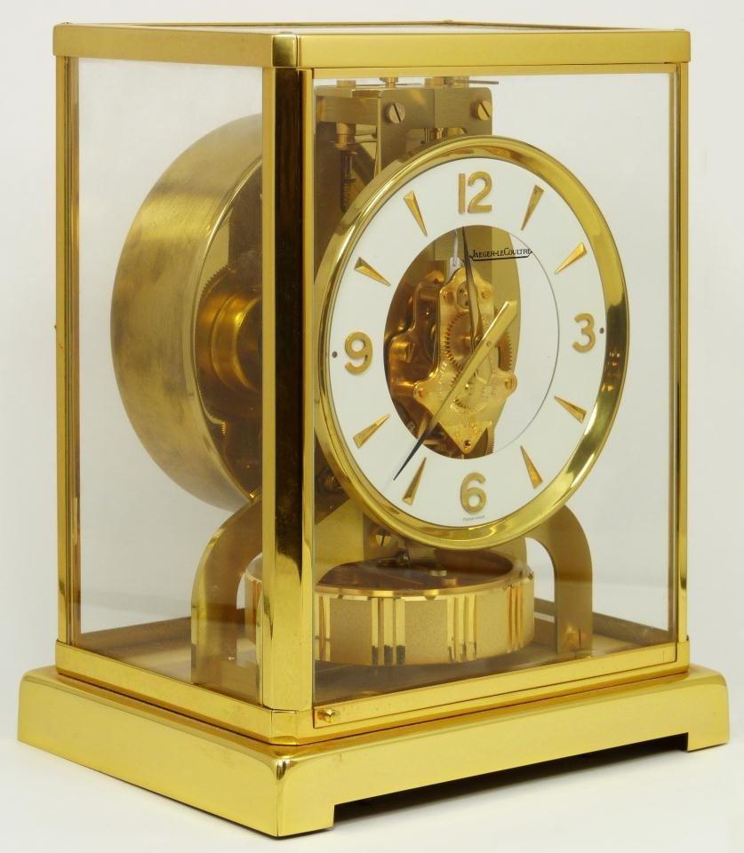 10: LECOULTRE ATMOS PERPETUAL MOTION CLOCK
