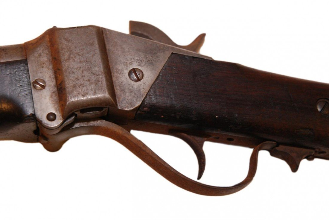 50: C. SHARPS 1848 MODEL .52 CALIBER BUFFALO RIFLE - 8