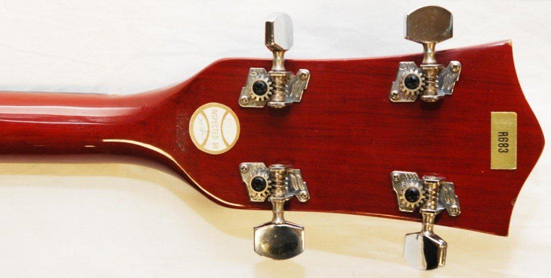355: 1950's CHERRY FINISH STRAD-O-LIN 5 STRING BANJO - 9