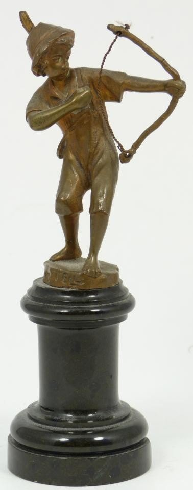 7: BECK AUSTRIAN BRONZE FIGURE OF WILLIAM TELL