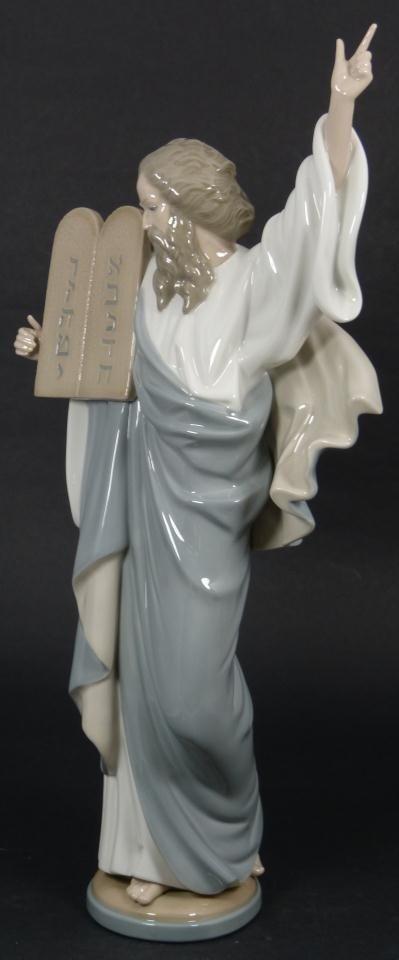34: LLADRO SPANISH PORCELAIN FIGURE MOSES 5170 - 4