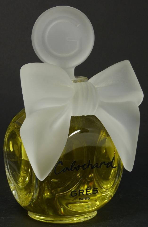 327: CABOCHARD GRES PARIS FACTICE PERFUME BOTTLE