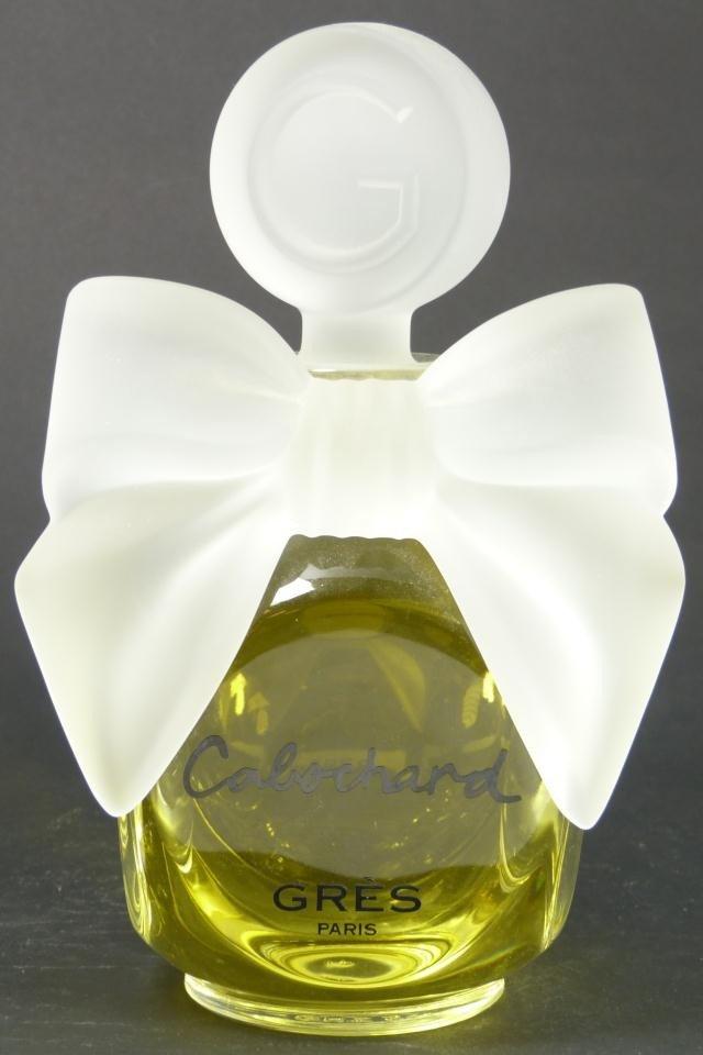 327: CABOCHARD GRES PARIS FACTICE PERFUME BOTTLE - 3
