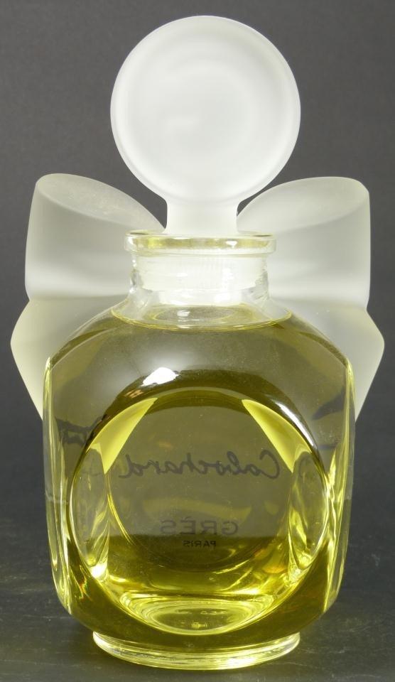 327: CABOCHARD GRES PARIS FACTICE PERFUME BOTTLE - 5