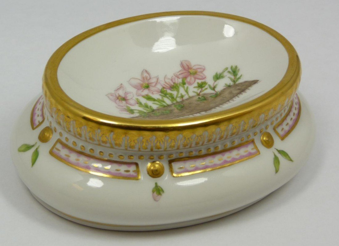 3: ROYAL COPENHAGEN FLORA DANICA PORCELAIN EGG BOWL