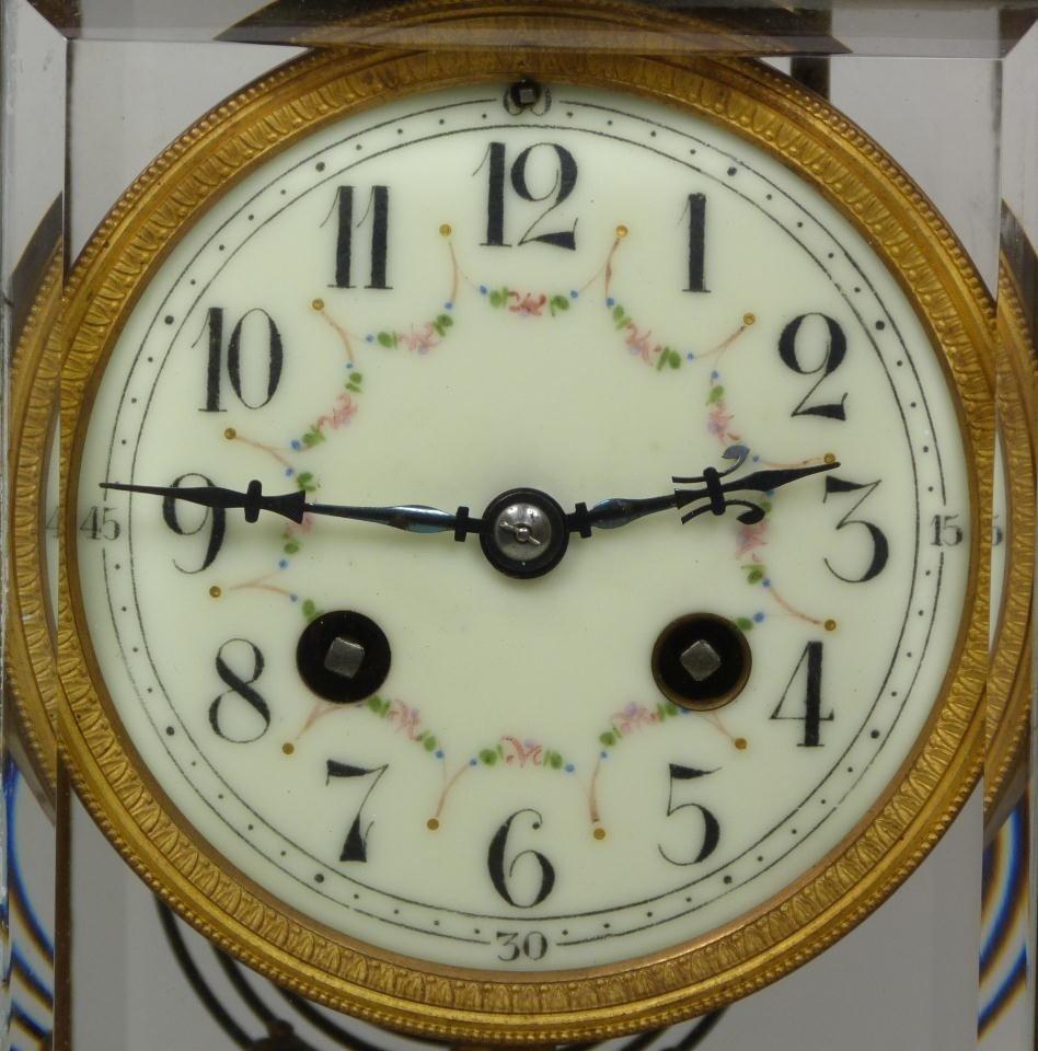 189: 19th CENTURY SAMUEL MARTI MARBLE REGULATOR CLOCK - 2