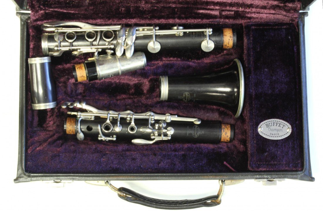 13: OLD BUFFET CRAMPON PARIS CLARINET