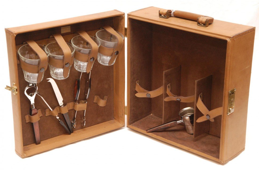 15: ASPREY LONDON COCKTAIL SET w BOX