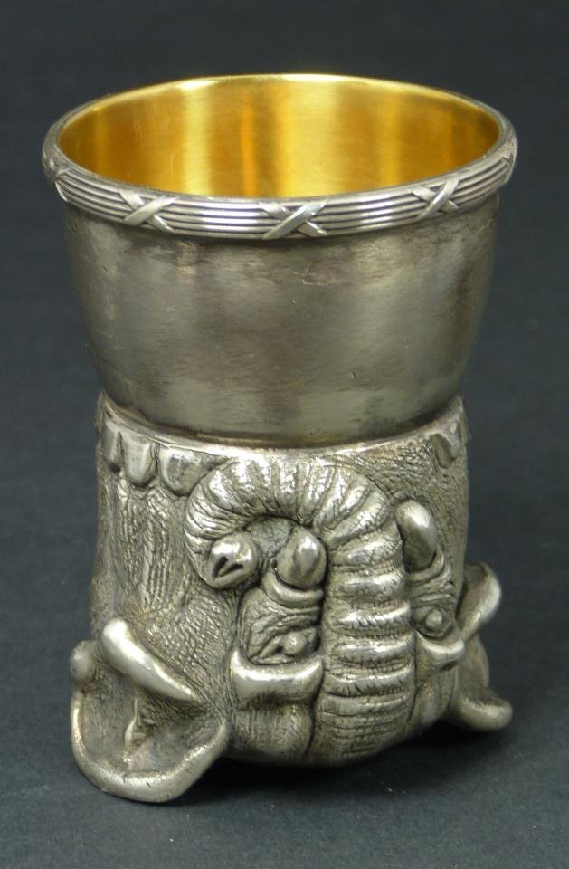 18: IMPERIAL RUSSIAN SILVER ELEPHANT CUP RAPPOPORT