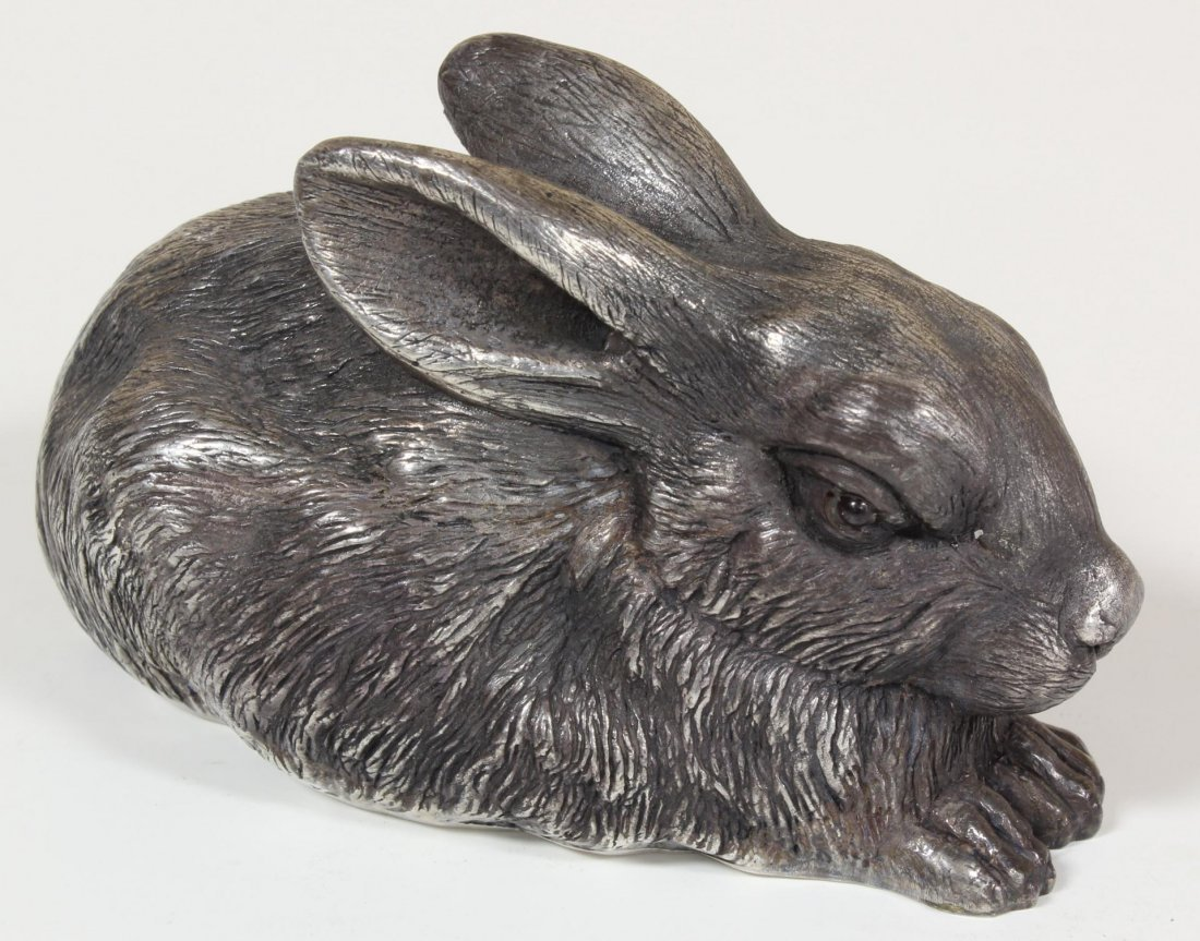 20: RUSSIAN SILVER RABBIT FIGURE