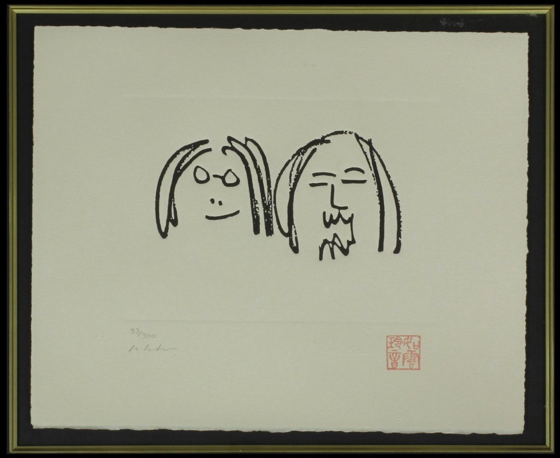 70: JOHN LENNON 'OH MY LOVE' LIMITED EDITION SERIGRAPH