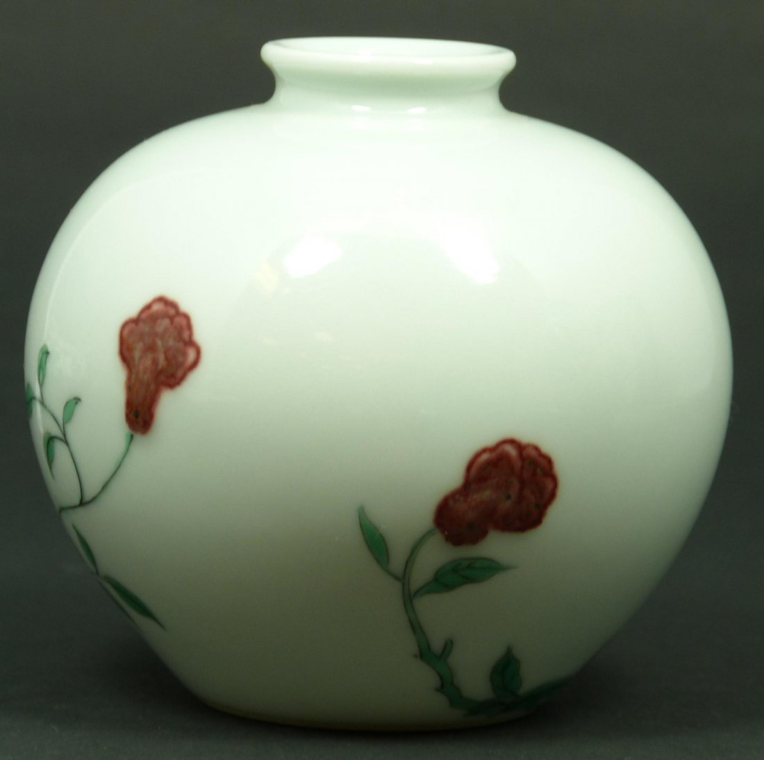 513: 18th C CHINESE FAMILLE ROSE PORCELAIN WATER COUPE