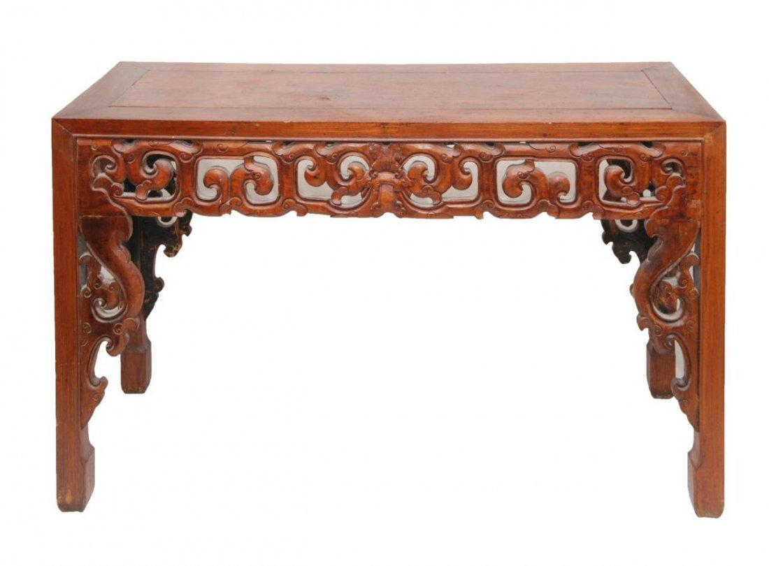 404: CHINESE HUANGHUALI WOOD ALTAR TABLE