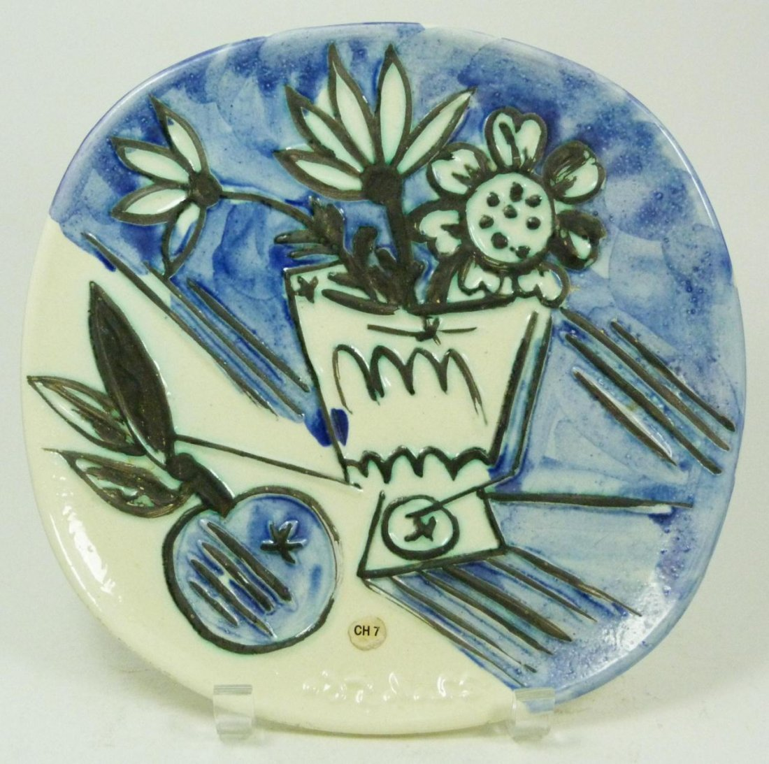 20: PICASSO ATELIER MADOURA FRENCH CERAMIC PLATE