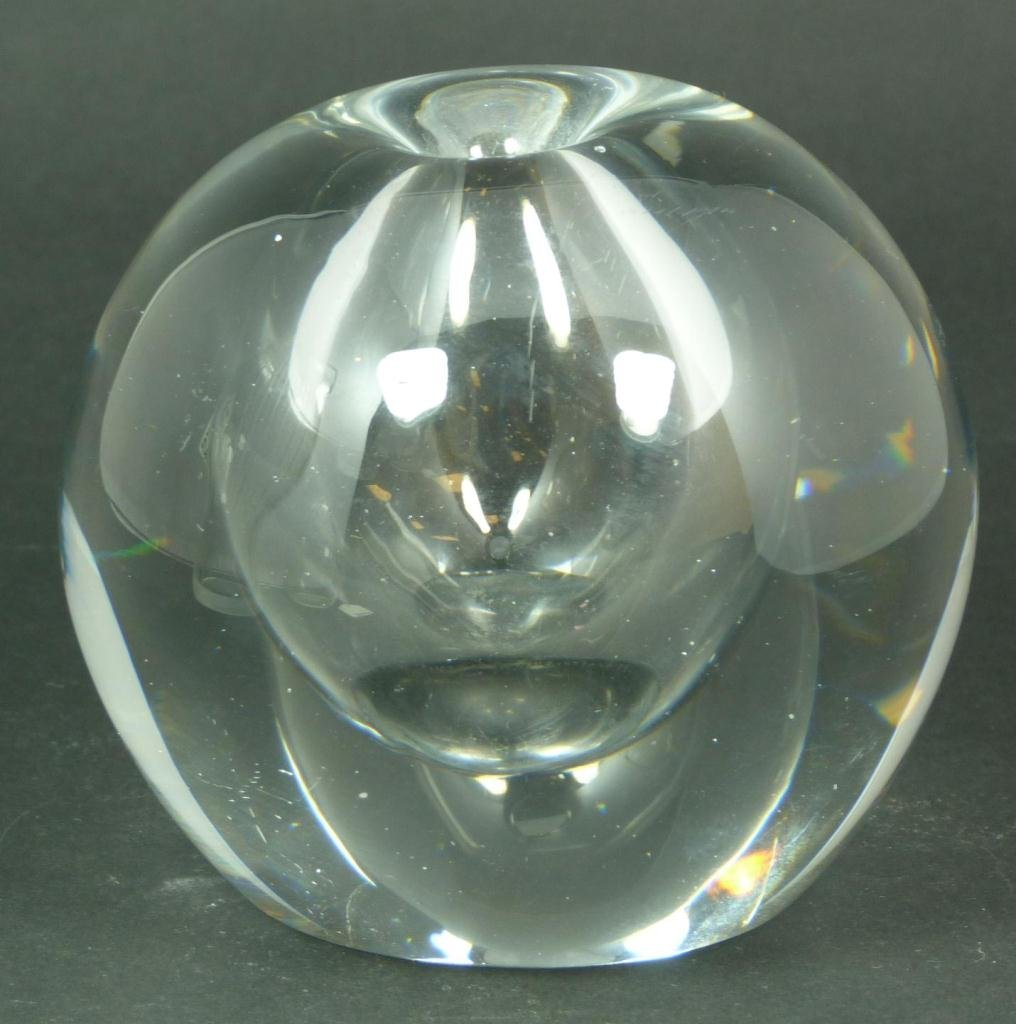 18: TIMO SARPANEVA 'THUNDERBALL' STUDIO GLASS VASE