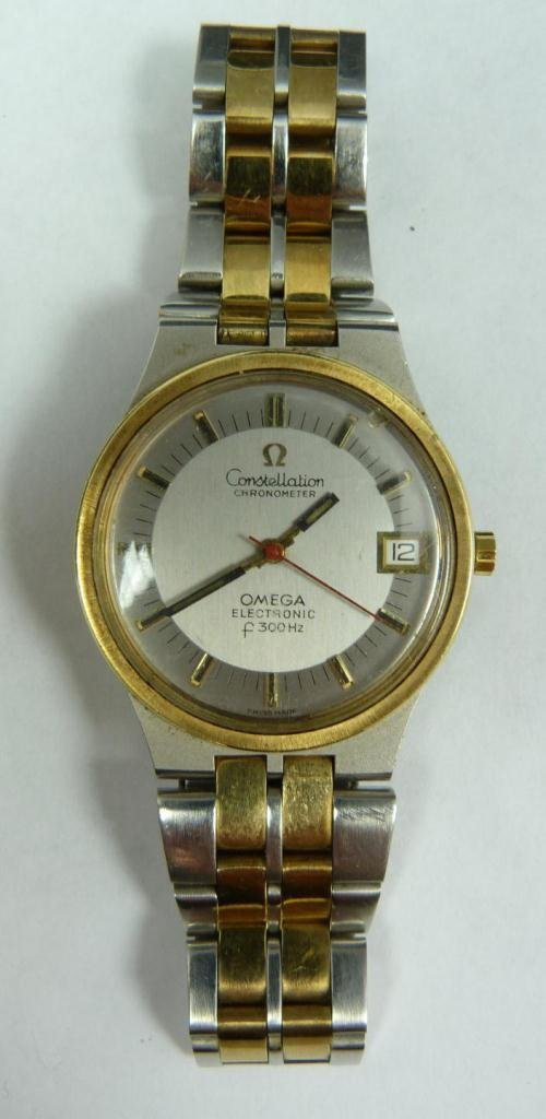 424: OMEGA CONSTELLATION STAINLESS STELL WATCH