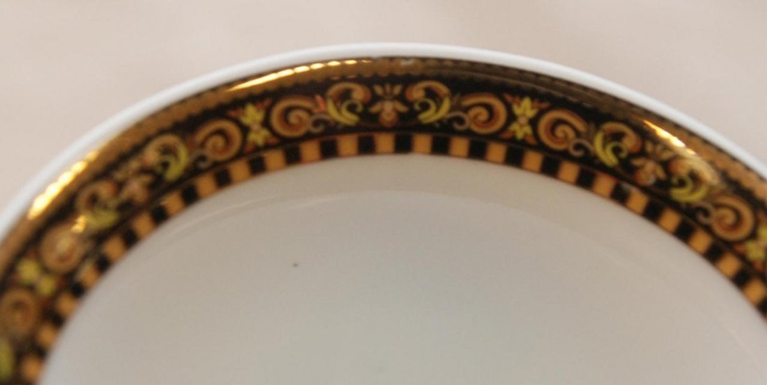 12pc ROSENTHAL VERSACE BAROCCO CUP & SAUCER SETS - 4