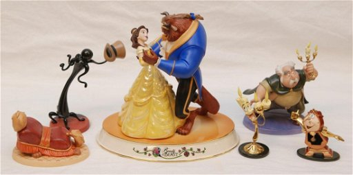 Beauty And The Beast Collectibles >> 7 Walt Disney Beauty The Beast Collectibles Feb 17 2013 Elite