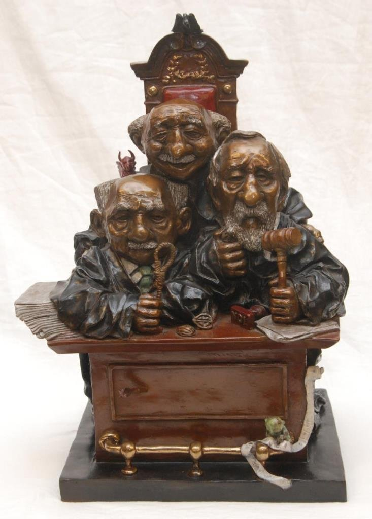 CHARLES BRAGG BRONZE 'COURT OF APPEALS'