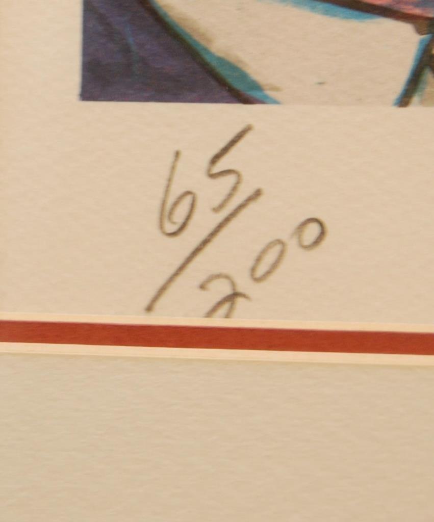 RED GROOMS COLOR LITHOGRAPH 'CEDAR BAR' 65/200 - 8