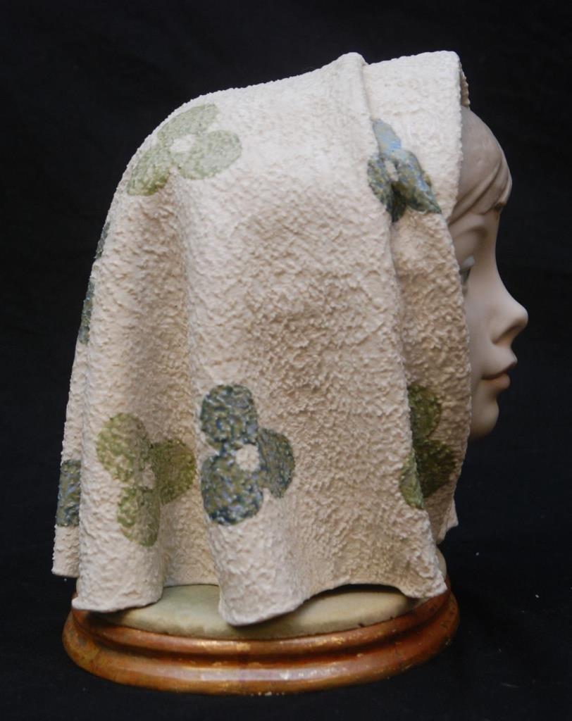 LLADRO GIRL HEAD BUST CABEZA 1003 - 4