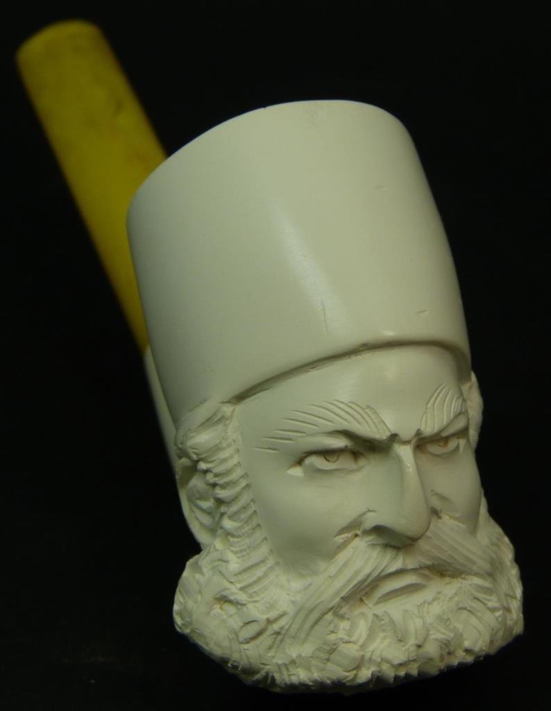 MEERSCHAUM PIPE FEATURING A GREEK ORTHODOX PRIEST