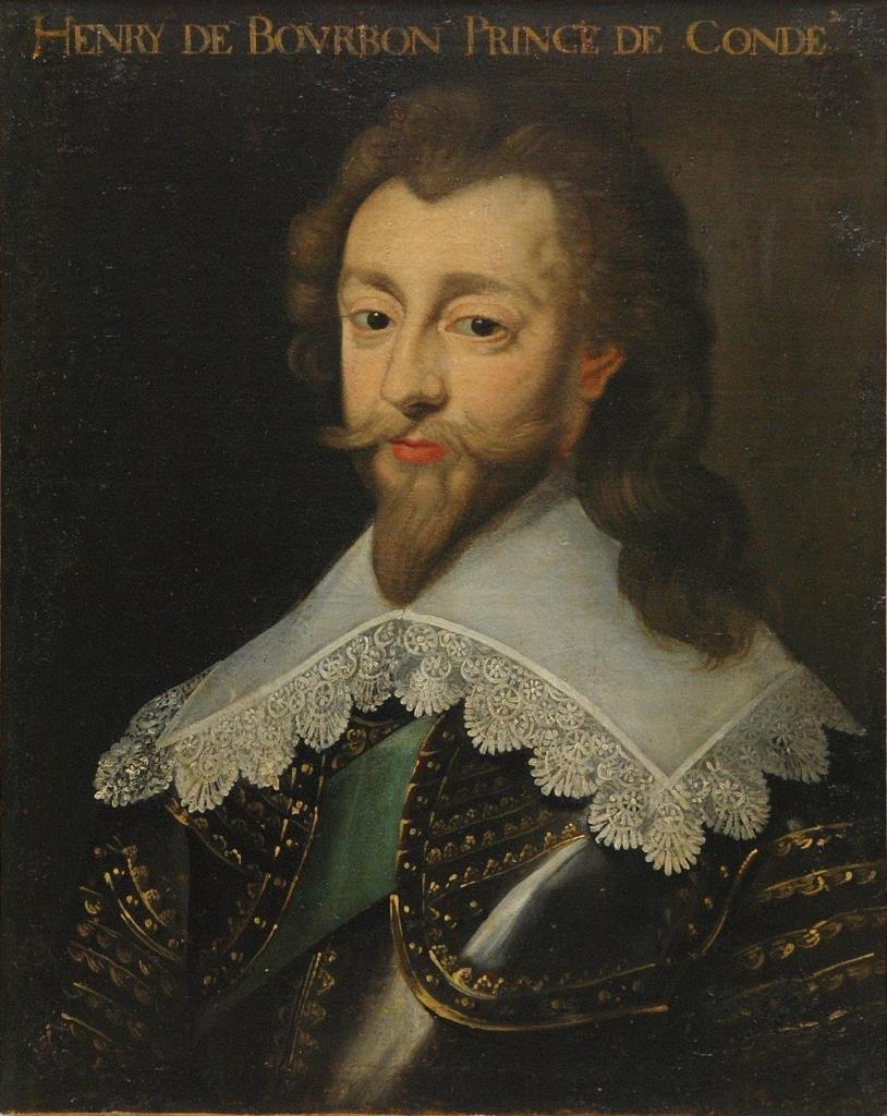 16TH CENTURY PORTRAIT OF HENRY DE BOURBON